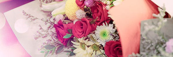 Blumenstrauß zu Ostern