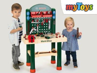 klein Bosch Work-Shop bei MyToys