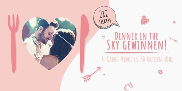 Jetzt Dinner in the Sky gewinnen