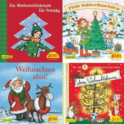 Pixi-Bücher zum Thema Weihnachten
