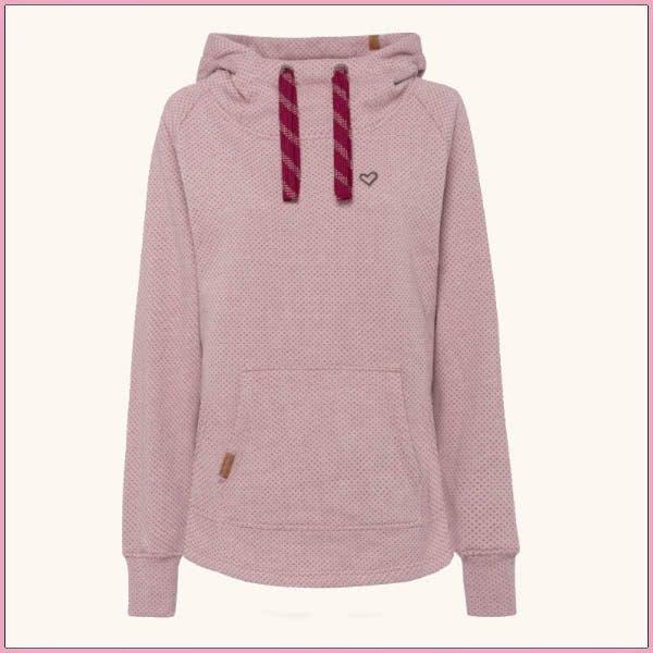 Cocooning-Kleidung für den Wechsel: Kapuzensweatshirt von aflife and kickin