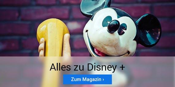 Streame jetzt Disney+!