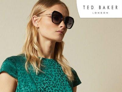 Oversized Sonnenbrille bei Ted Baker