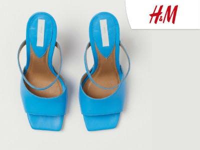 Sandaletten aus Leder bei H&M