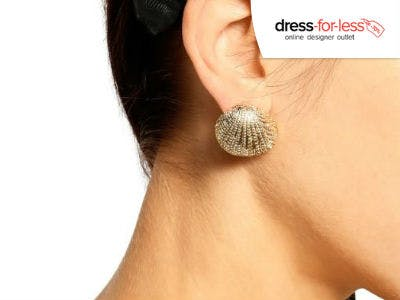 Angesagte Muschel-Ohrringe bei dress-for-less