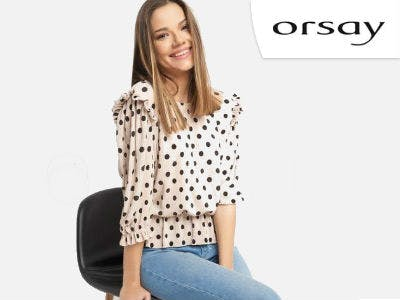 Shirt mit Punkten bei Orsa