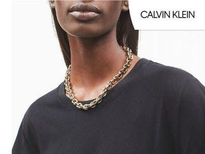 Krasse Statement-Kette bei Calvin Klein