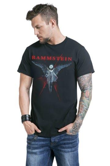 Band Shirts gehören zu jeder Festivalmode: Rammstein Shirt von EMP
