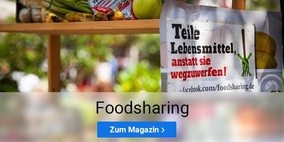 So funktioniert foodsharing