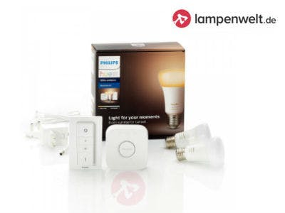 Philips Hue White Ambiance E27 2er Starter-Kit