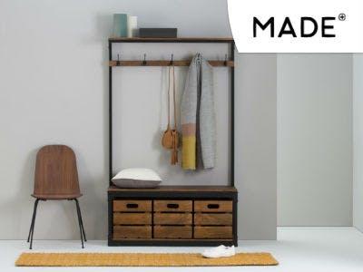 Breite Garderobe von Layne bei Made.com bestellen