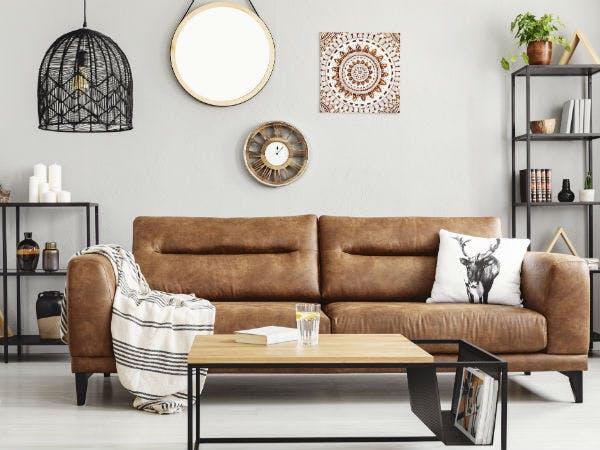 Der gemütlichste Raum der Wohnung: das Wohnzimmer