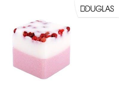 Perfekt für Freunde der Farben: der Badefee Badewürfel Rhabarber-Erdbeere