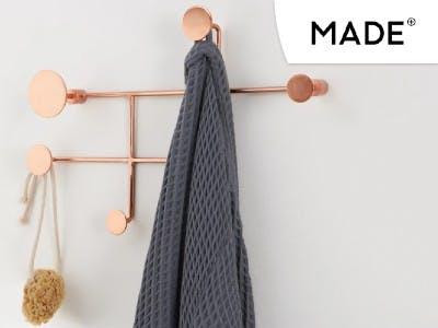 Shoppe jetzt den Bran Wandhaken von MADE.COM