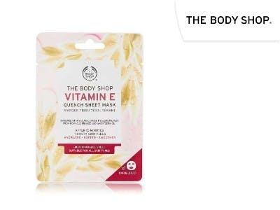 Spendet Feutchtigkeit: Vitamin E Tuchmaske von The Body Shop