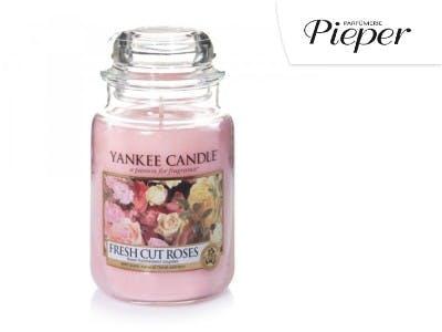 Sorgt für entspannenden Duft: die Yankee Candle Fresh Cut Roses