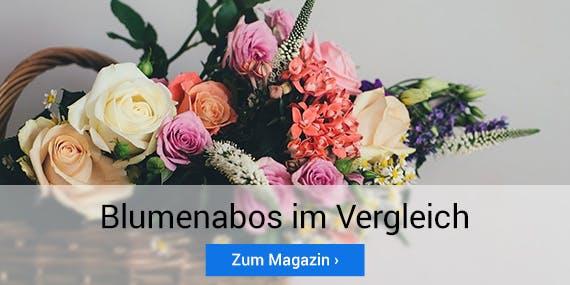 Muttertag 2020: Blumenabos im Vergleich