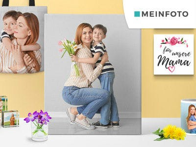Individuelle Fotogeschenke ab 3,35€ bei Meinfoto.de