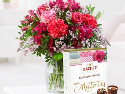 Überrasche deine Mutter mit einem Blumenstrauß.