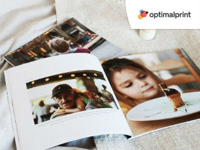 Softcover Fotobuch ab 8,94€ bei Optimalprint