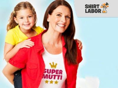 Individuelle T-Shirts und mehr zum Muttertag bei Shirtlabor