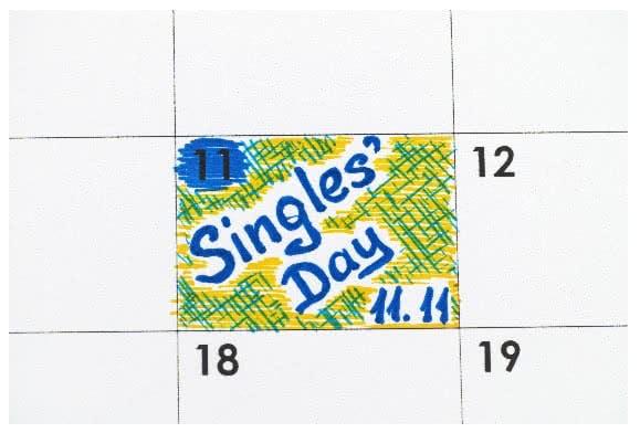 Der Singles' Day bietet euch viele Schnäppchen