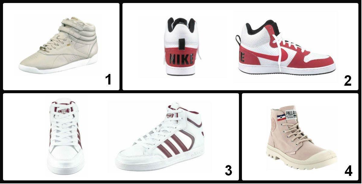 Die angesagtesten High-Top-Sneaker von Reebok bis Nike.