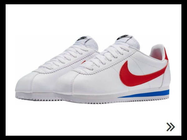 Wer den Nike Classic Cortez an den Füßen hat, liegt garantiert im Trend.