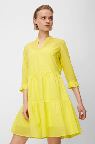 Das A-Linien-Kleid von Marc O'Polo steht O-Figurtypen besonders gut.