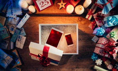 Weihnachtsgeschenke shoppen