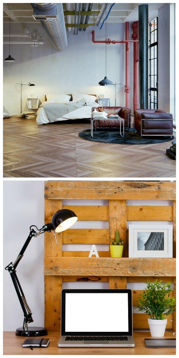 Materialien und Möbel für den Industrial Chic