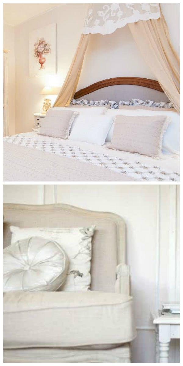 Materialien und Möbel für den Landhausstil
