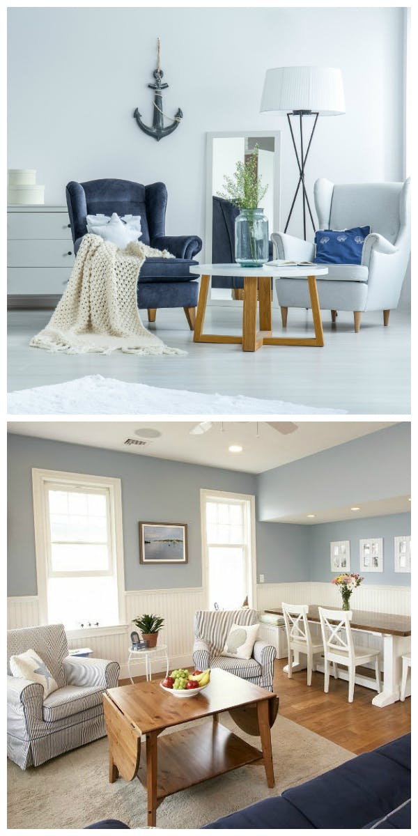 Materialien und Möbel für den Maritimen Stil