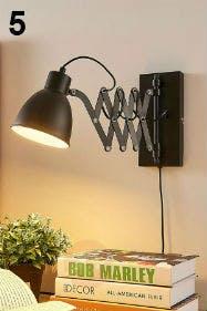 Mit einer eisernen Wandlampe komplettierst du deinen Industrial Look.
