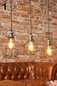 Perfekt für den Industrial Style: Pendellampen von Lampenwelt