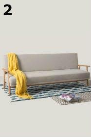 Clean, minimal und funktional sollten Lagom-Möbel sein.