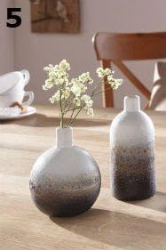 Perfekt für den Lagom-Stil: Stein-Vasen