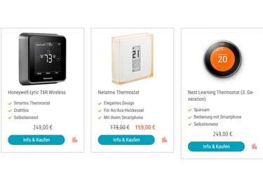 Sieh dich auf 50five.de um und entscheide dich für deine Smart-Home-Geräte