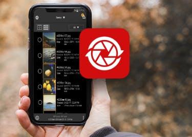 Mobile Nutzung von ACDSee