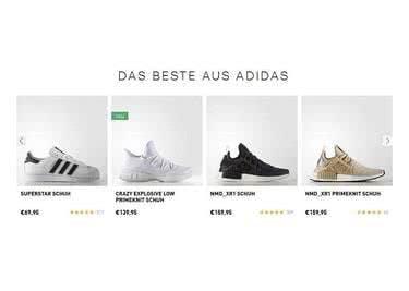 Sneaker günstig kaufen mit einem adidas-Gutschein
