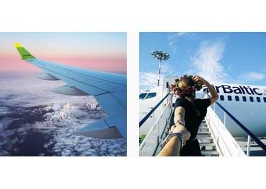 Stille deine Reisehunger und buche einen günstigen Flug bei airBaltic