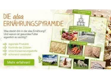 alsa-hundewelt legt großen Wert darauf, ausschließlich Premium-Futter zu verkaufen