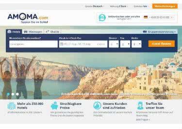 Hotels und Mietwagen günstig bei Amoma buchen
