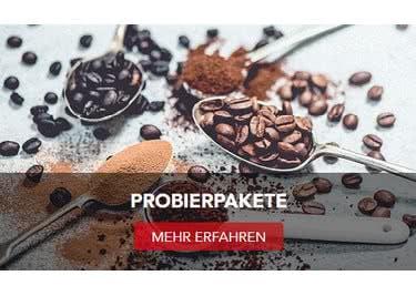 Bestelle dir ein günstiges Probierpaket und erlebe vielfältigen Kaffee-Genuss!