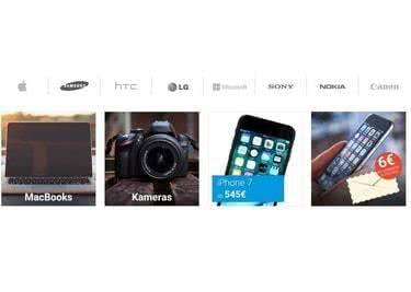 Alle namhaften Hersteller unter einem Dach: Samsung, Apple und viele mehr!