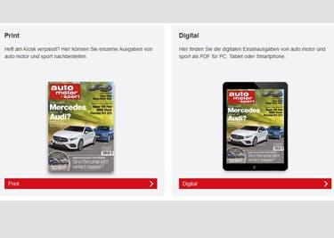Beziehe deine neue Lieblingszeitschrift günstiger mit einem auto-motor-und-sport-Gutschein