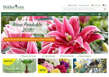 Pflanzen, Blumen und Saaten bestellst du mit einem Bakker-Gutschein zum Preisnachlass