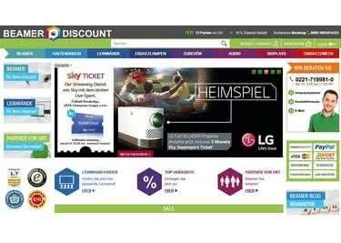 Euren Beamer bestellt ihr günstig bei Beamer-Discount
