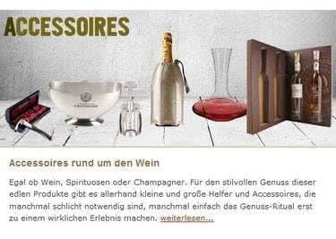 Bei BELViNi findet ihr Accessoires rund um den Wein