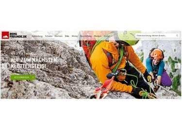 Bergfreunde.de hat ein großes Sortiment an Bergsport- und Skibekleidung sowie Kletterausrüstung